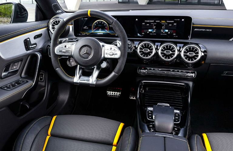 2020 Mercedes-Benz AMG® CLA 45 front interior