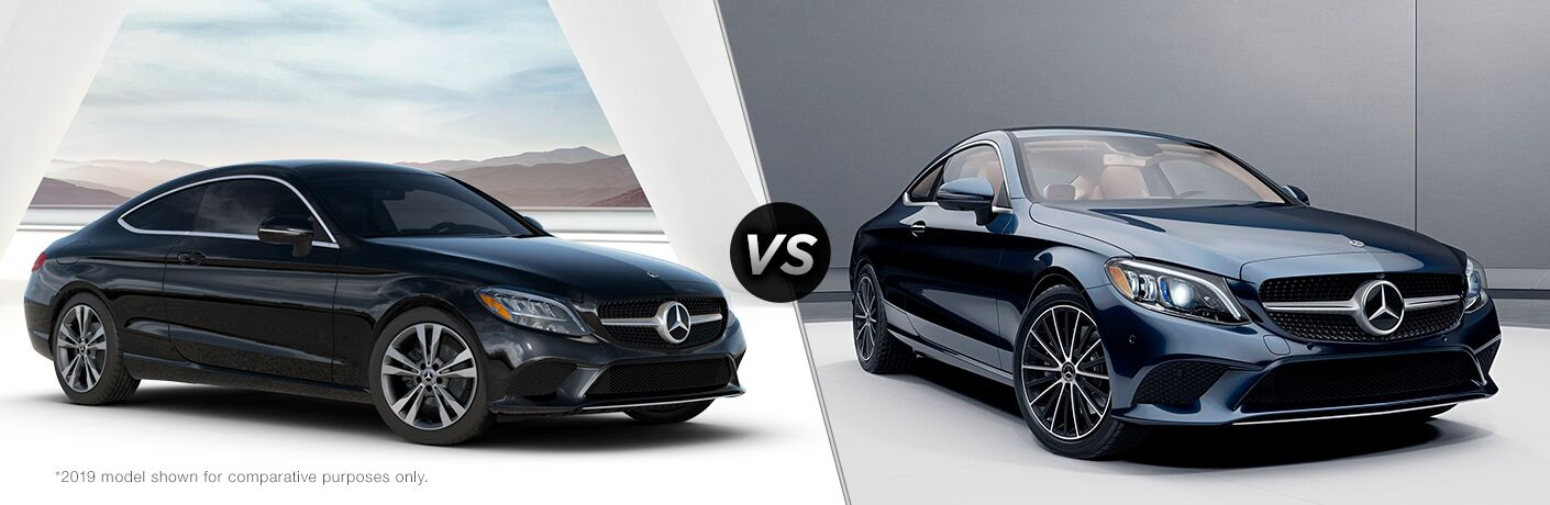 2020 Mercedes-Benz C 300 Coupe vs 2019 Mercedes-Benz C 300 Coupe