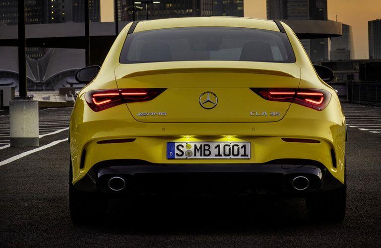 2020 Mercedes-Benz AMG® CLA 35 Coupe exterior profile