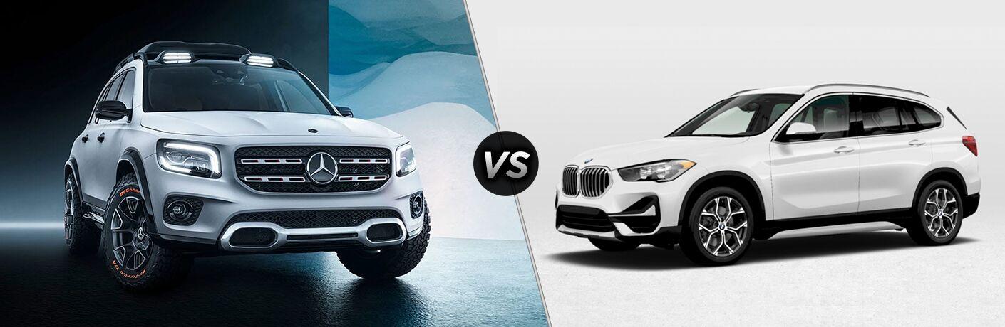 2020 Mercedes-Benz GLB vs 2020 BMW X1