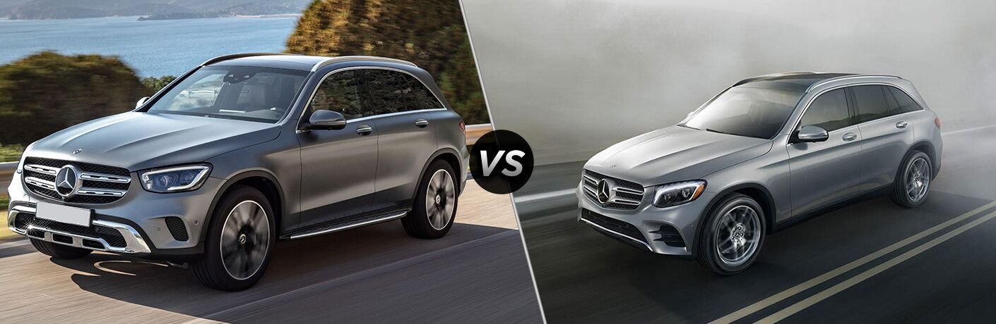 2020 Mercedes-Benz GLC vs 2019 Mercedes-Benz GLC