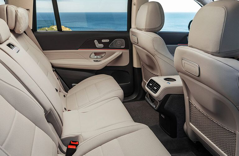 2020 Mercedes-Benz GLS rear interior