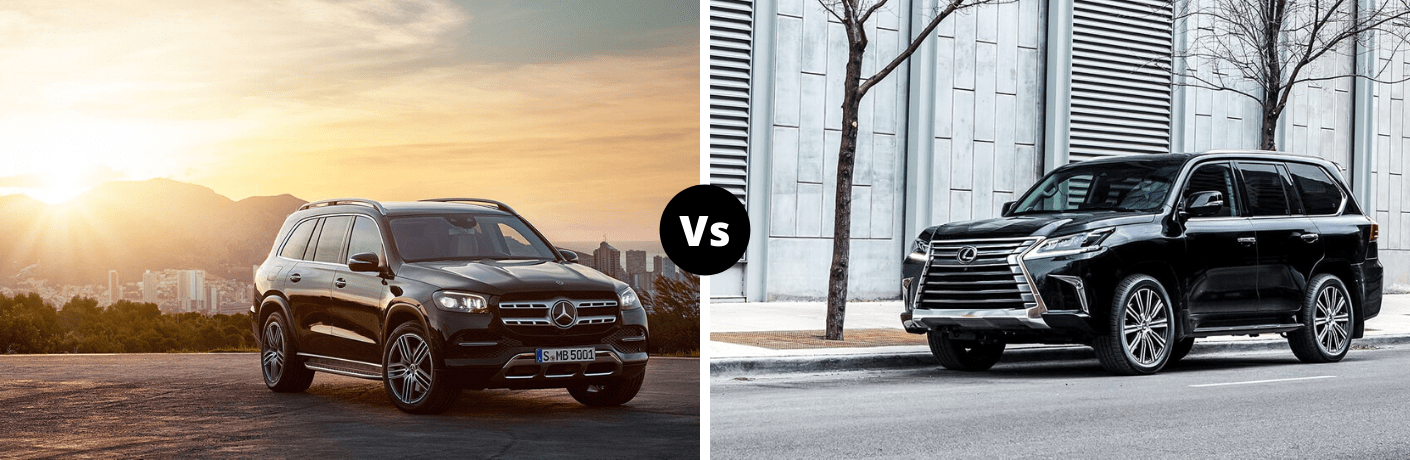 2020 Mercedes-Benz GLS vs 2020 Lexus LX