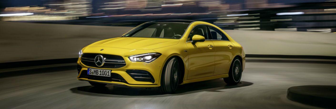 2020 Mercedes-Benz CLA Coupe exterior profile