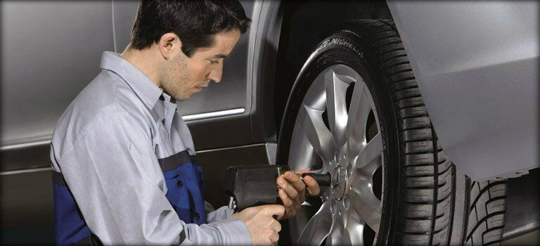 Mercedes-Benz First Class Wheel and Tire Protection