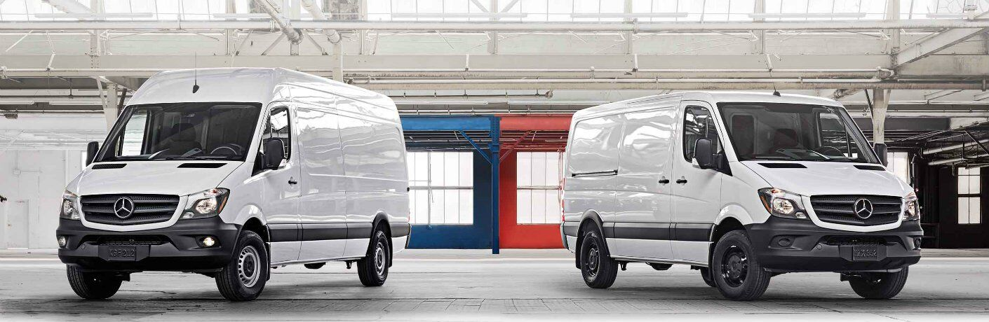 2018 Mercedes-Benz Metris Cargo Van in warehouse