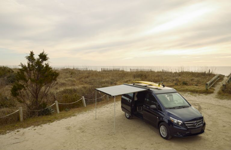 Mercedes-Benz Weekender with awning