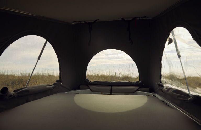 Mercedes-Benz Weekender with tarp overtop