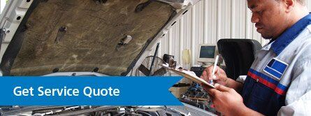 mercedes-Benz exhaust service quote