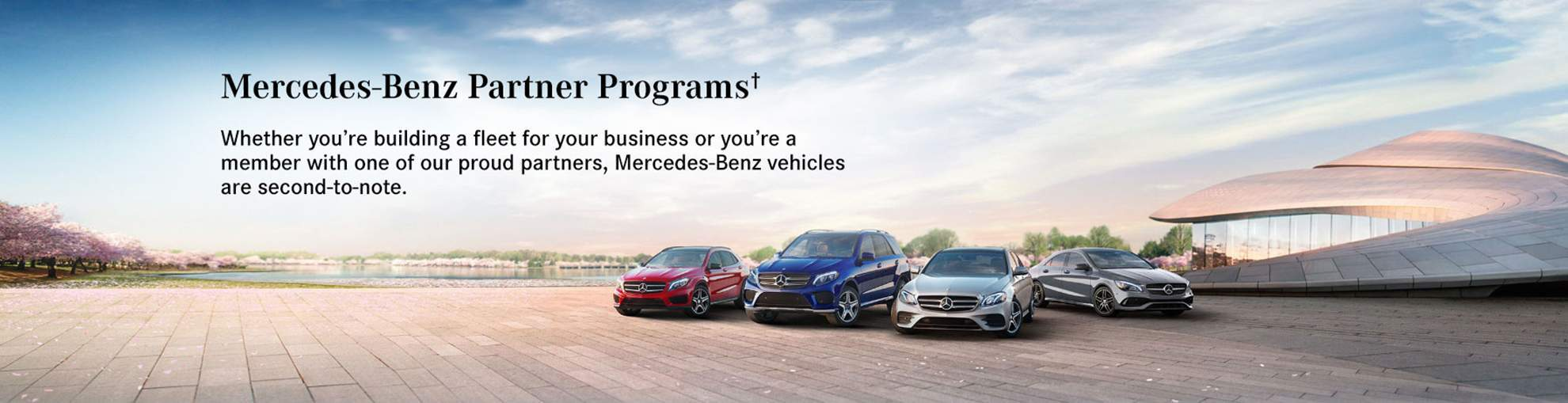Four Mercedes-Benz Vehicles in Advertisements