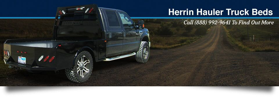 Herrin Hauler Truck Beds