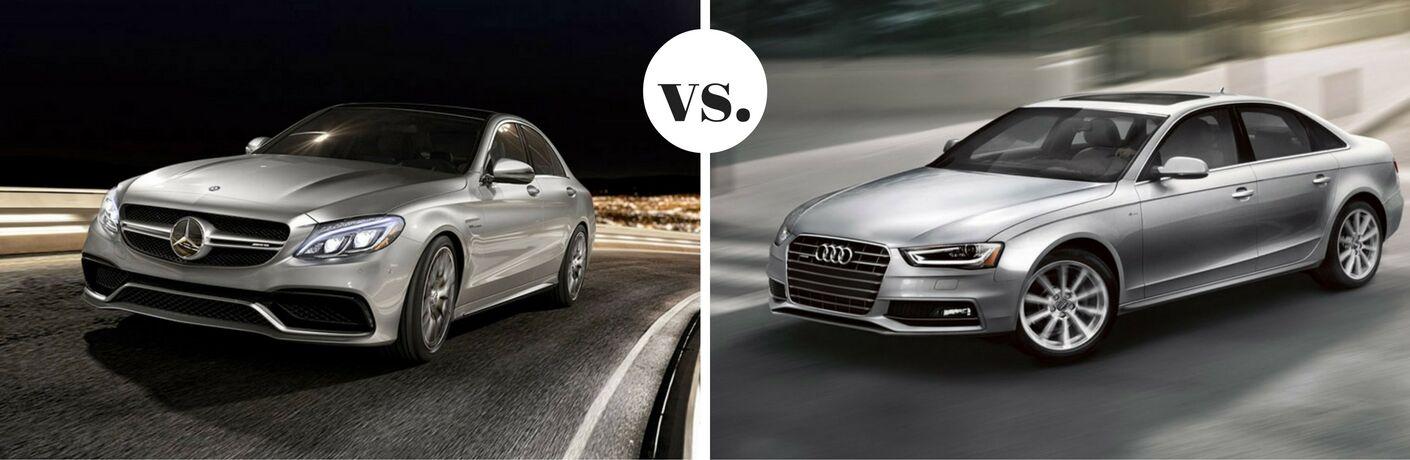 2017 Mercedes-Benz C-Class vs 2017 Audi A4