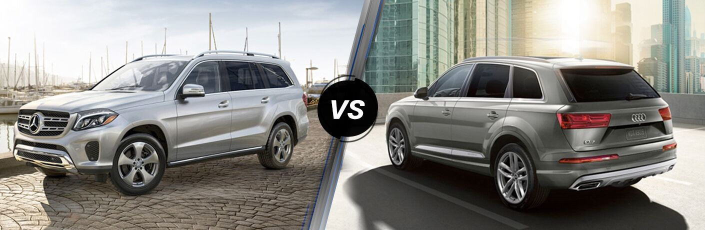 2018 Mercedes-Benz GLS 450 vs 2018 Audi Q7