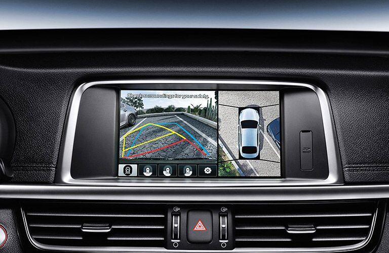 2016 Kia Optima standard safety features