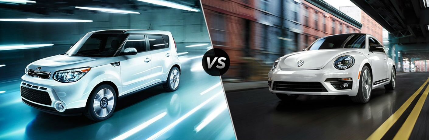 2016 Kia Soul vs 2016 VW Beetle