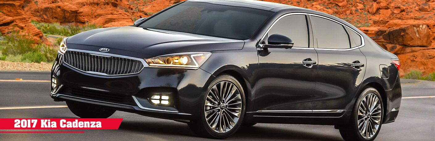 2017 Kia Cadenza Trim Comparison