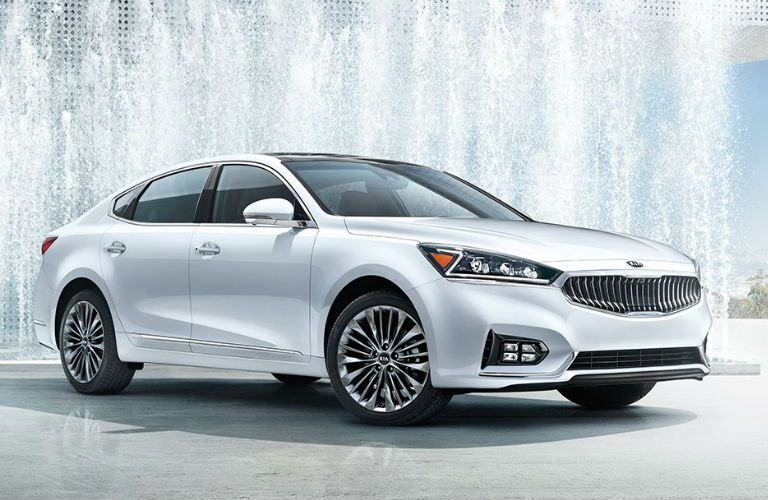 2017 Kia Cadenza Exterior View in White