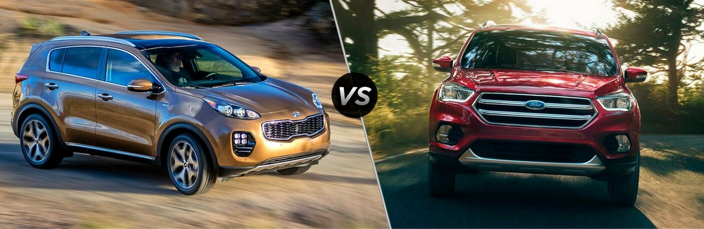 2017 Kia Sportage vs 2016 Ford Escape