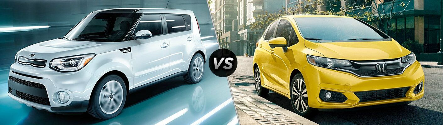 2018 Kia Soul vs. 2018 Honda Fit