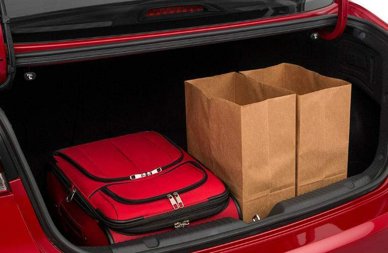 2018 Kia Forte View of Trunk Capacity