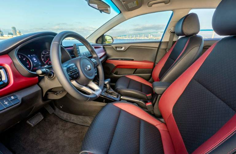 All of the controls in the 2017 Kia Rio are easily reachable for the driver