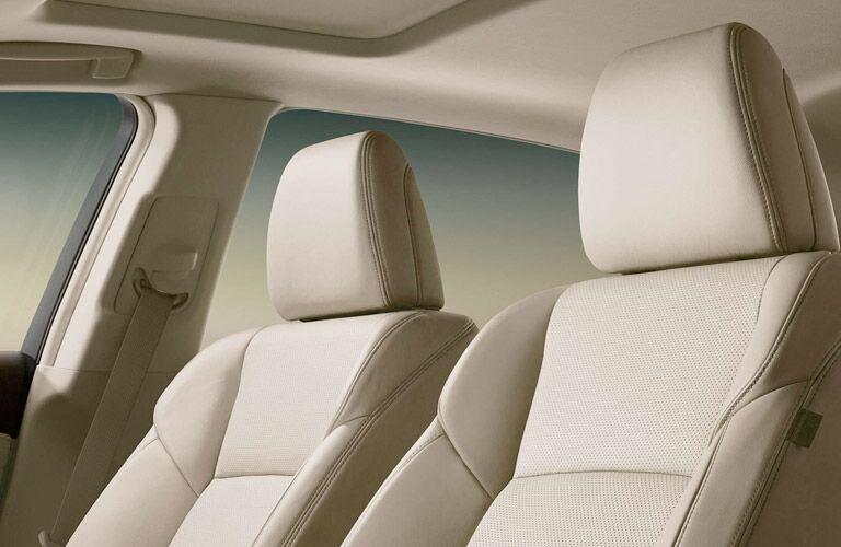 2017 Acura RLX seating