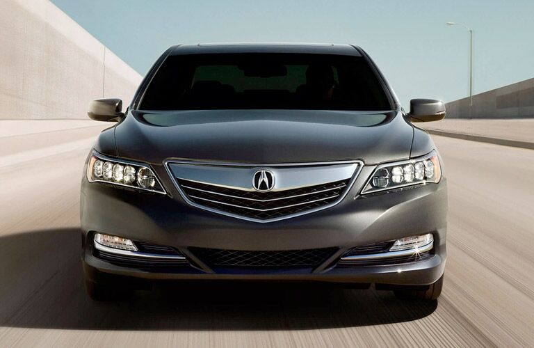 2017 acura rlx headlights grille