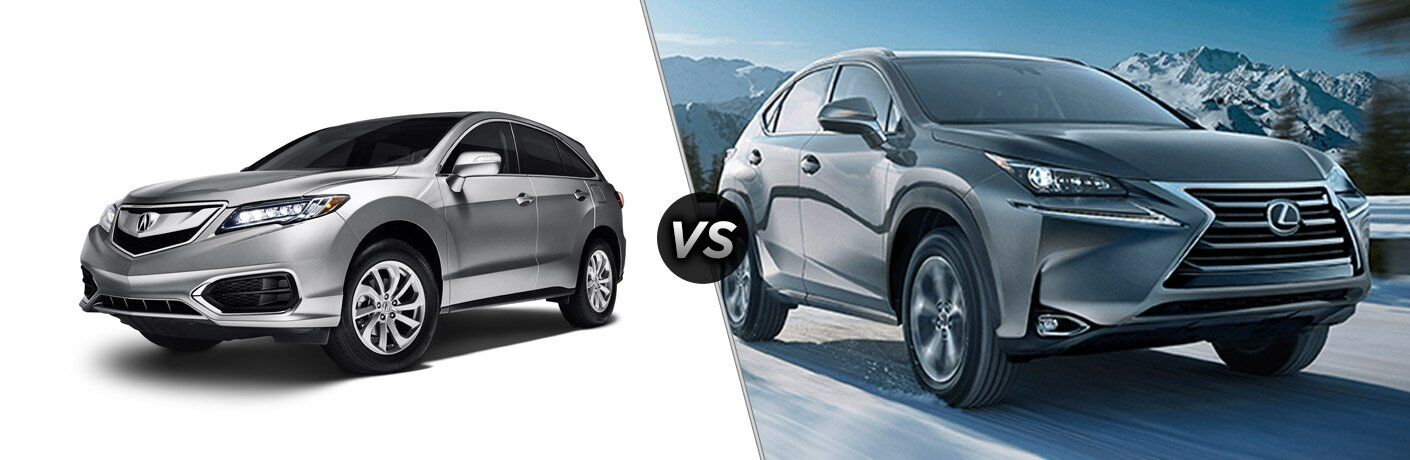 2017 acura rdx vs 2017 lexus nx turbo
