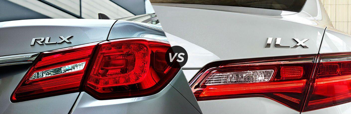 2017 Acura RLX vs. ILX