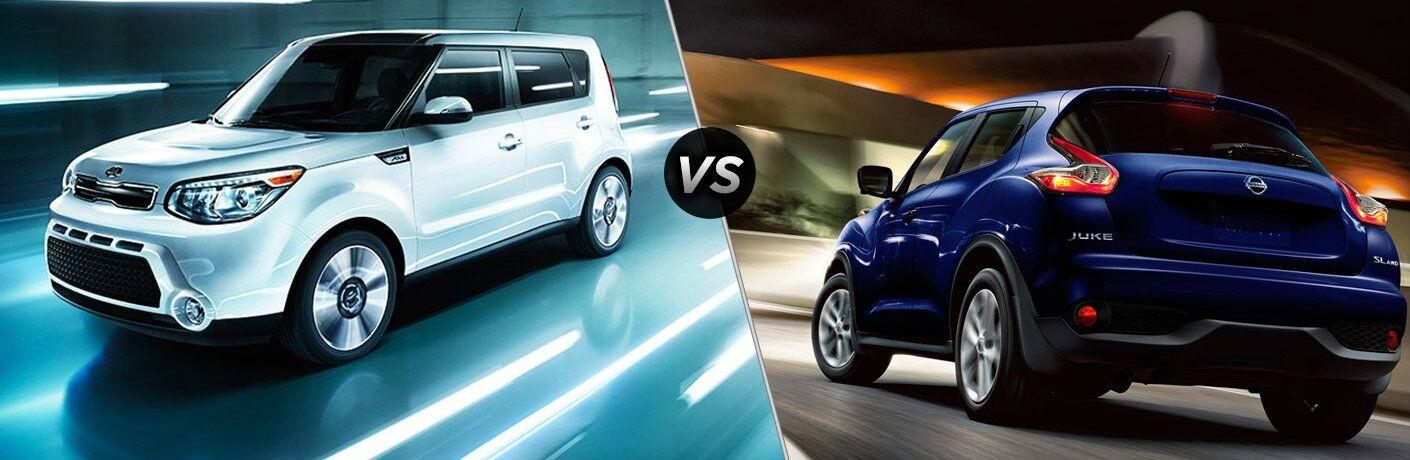 2016 Kia Soul vs. 2017 Nissan Juke