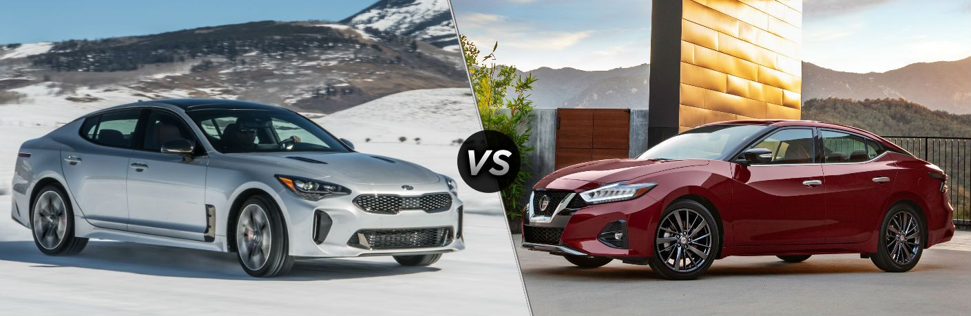 2019 Kia Stinger vs 2019 Nissan Maxima
