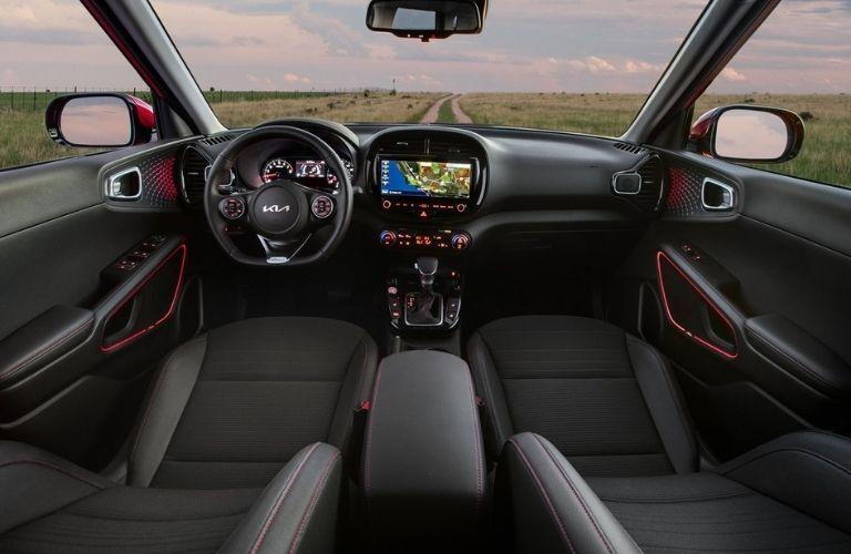 2022 Kia Soul Interior Dashboard