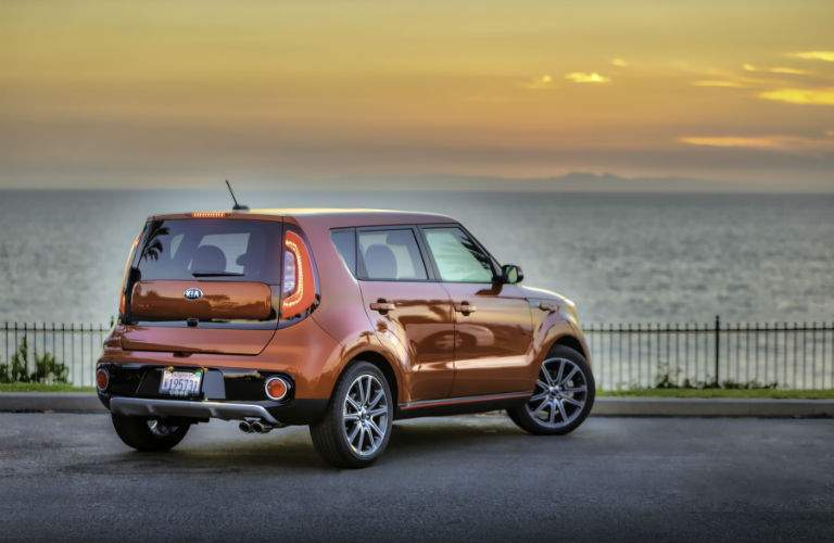 Passengers will have plenty of legroom in the 2017 Kia Soul