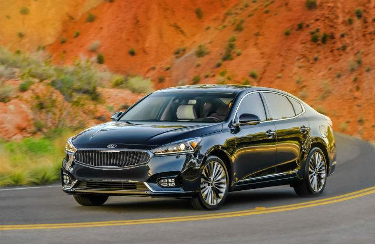 The 2017 Kia Cadenza has been completely redesigned for this year