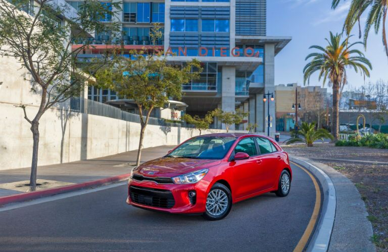 2018 Kia Rio also comes in a new hatchback style
