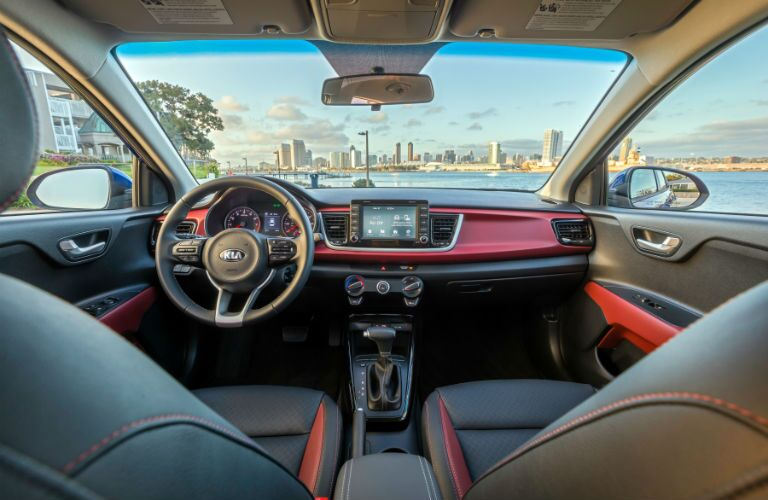 Interior of new 2018 Kia Rio is as stylish as anything else in its class