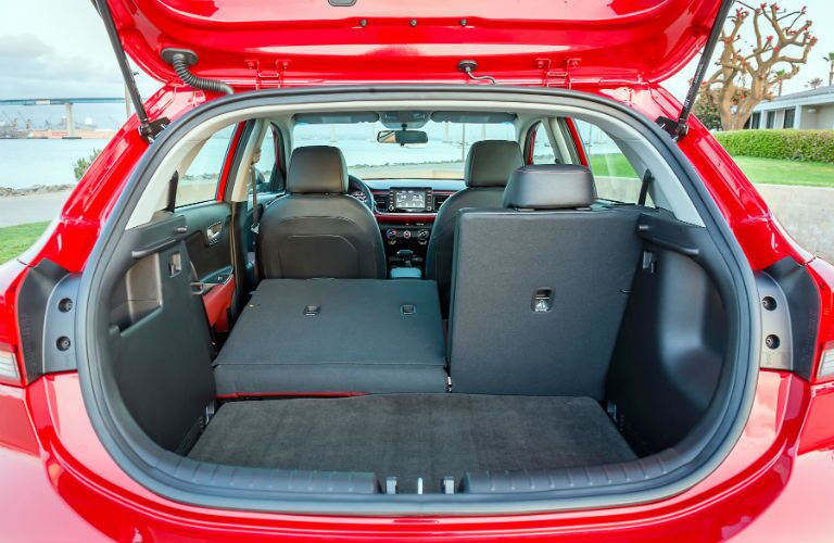 2018 Rio Hatchback has plenty of space for owners to use