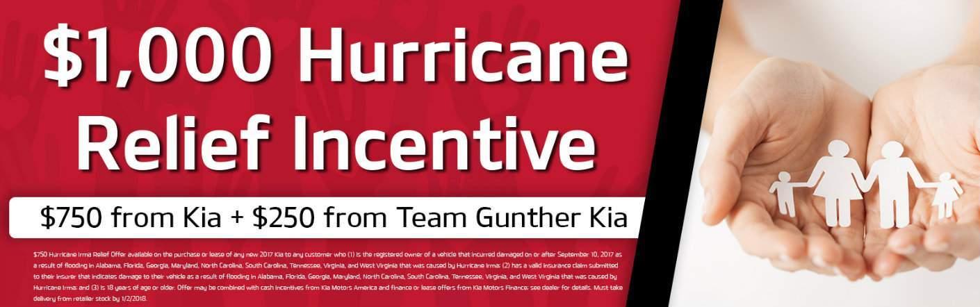 Kia Hurricane Flood Relief Incentive near Pensacola FL