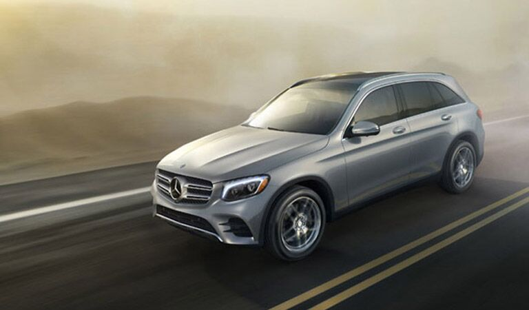Mercedes-Benz GLC front and side profile