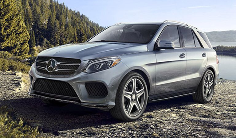 Mercedes-Benz GLE front and side profile