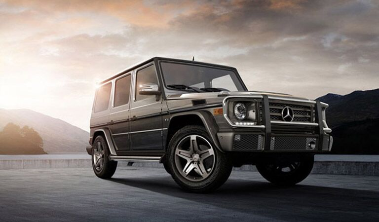 Mercedes-Benz G-Class front and side profile