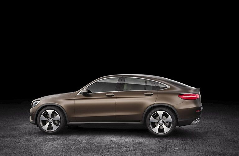 Brown 2017 Mercedes-Benz GLC