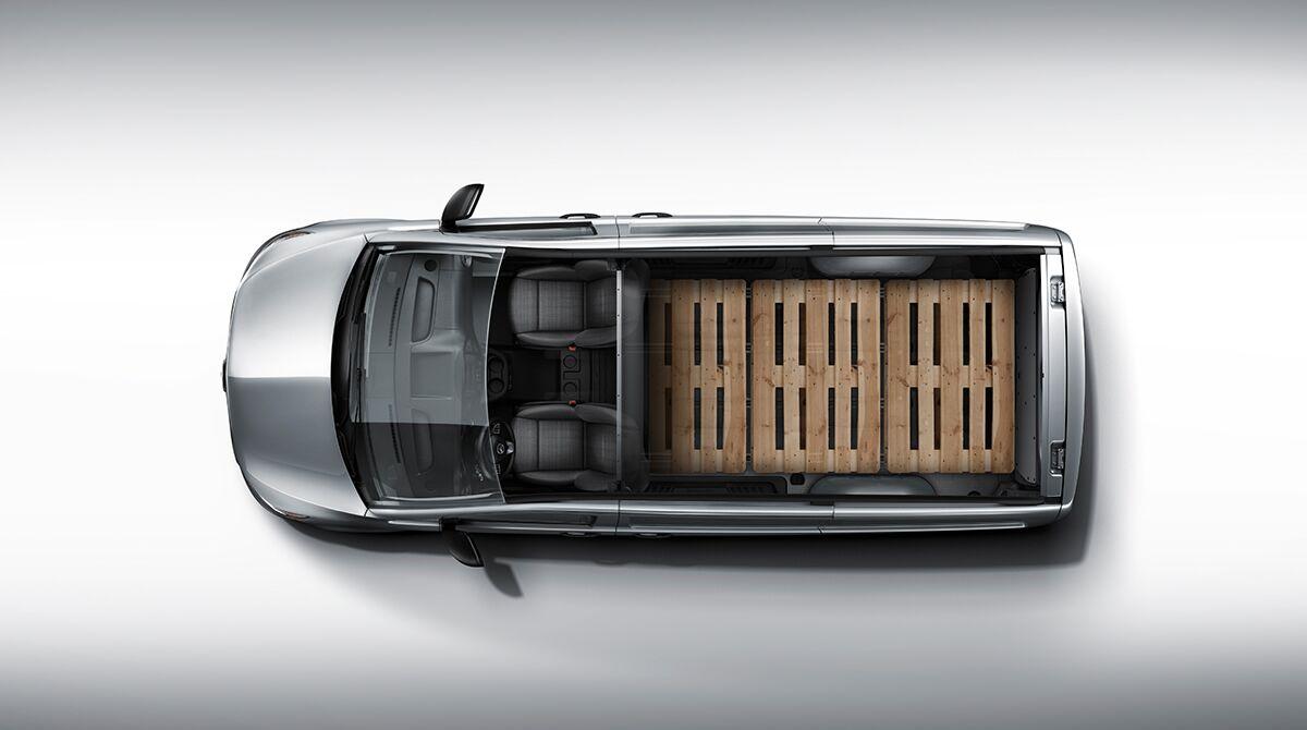 2017 Mercedes-Benz Metris Cargo Van cargo space