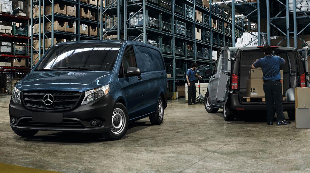 2017 Mercedes-Benz Metris Cargo Van versatility