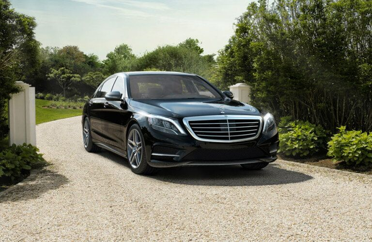 2017 Mercedes-Benz S-Class on gravel driveway