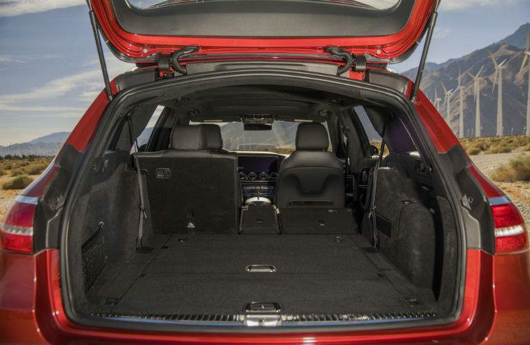 rear cargo space of a 2018 Mercedes-Benz E-Class Wagon