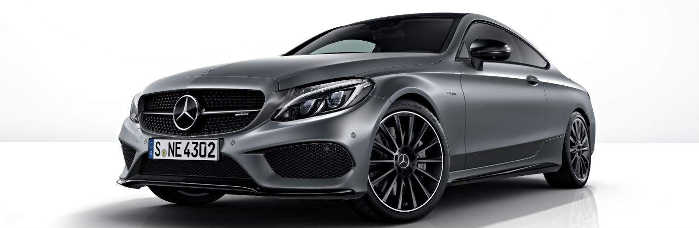 2018 Mercedes-Benz C-Class Coupe front side exterior