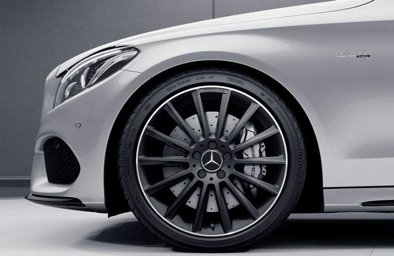 2018 Mercedes-Benz C-Class Coupe front exterior wheel and tire