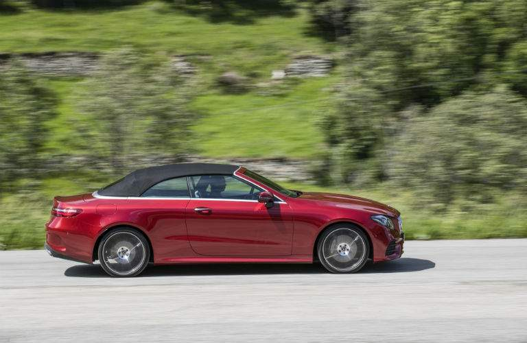 2018 Mercedes-Benz E-Class Cabriolet side exterior