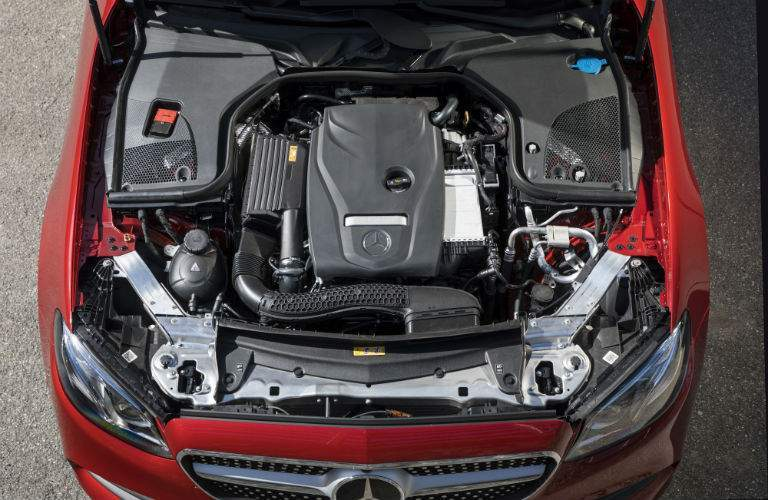2018 Mercedes-Benz E-Class Cabriolet engine